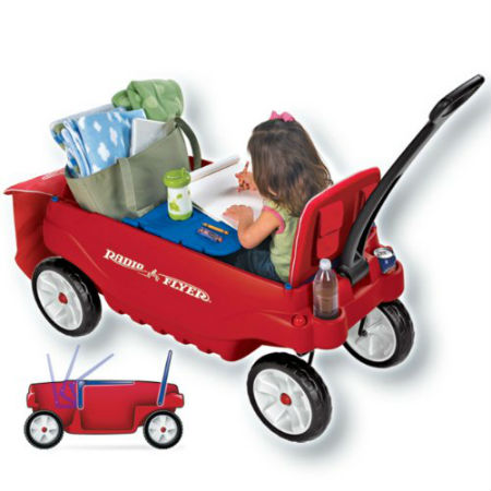 Radio Flyer Ultimate Comfort Wagon Reviews