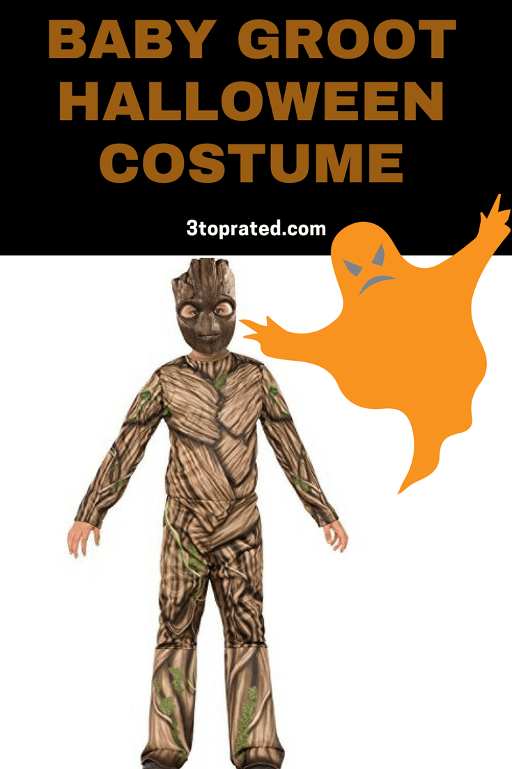 Baby Groot Halloween Costume For Infant, Toddler, and Child