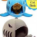 Shark Mouth Cat Bed For Your Pet
