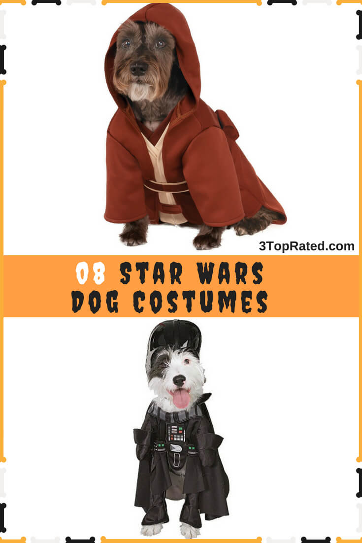 a142a5164e1 Star Wars Dog Costumes For Halloween - 8 Different Styles