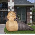 Jabba The Hutt Yard Inflatable