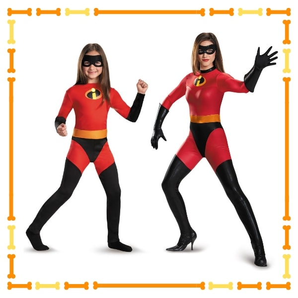 Mrs. Incredibles and Violet costume