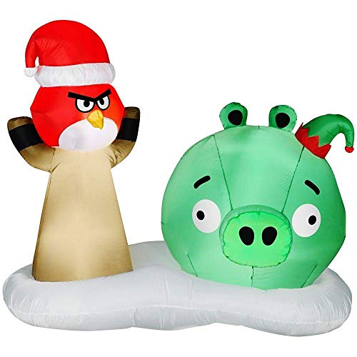 Angry Birds Red Bird in Slingshot Inflatable