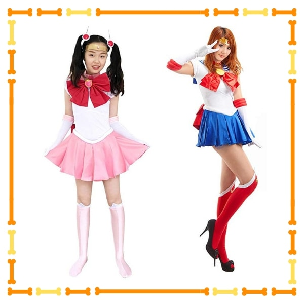 Sailor Chibi Cosplay and Sailor moon Cosplay