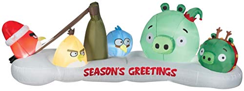 Angry Birds Christmas Inflatable
