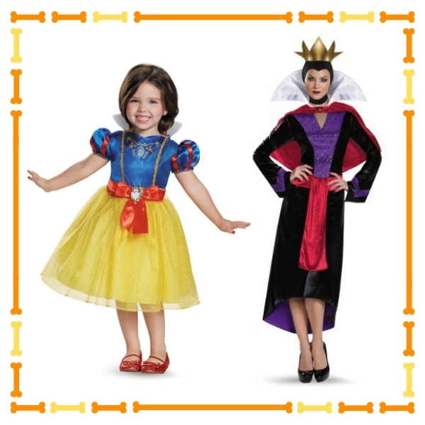 Snow White and Queen Costume