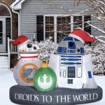 R2D2 Christmas Inflatable