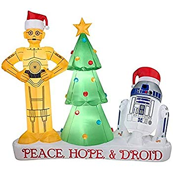 Star Wars Droids R2-D2 and C3PO Christmas Inflatable